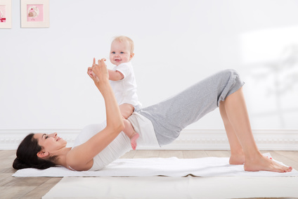 Rückbildungs-Yoga mit Babys (Anfänger)