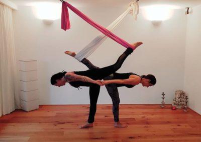 Ananda® Aerial Yoga Workshop  Sonnengruß / Deep Flow